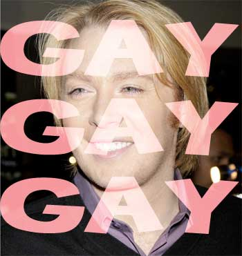 OMGLOL, have you heard about Clay Aiken being a hairdresser?